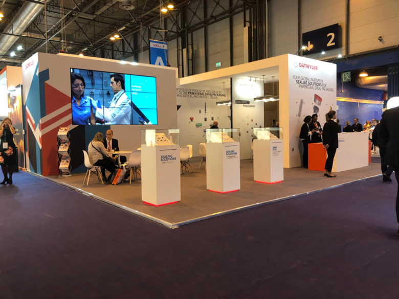 Datwyler Stand At Cphi Worldwide 2018