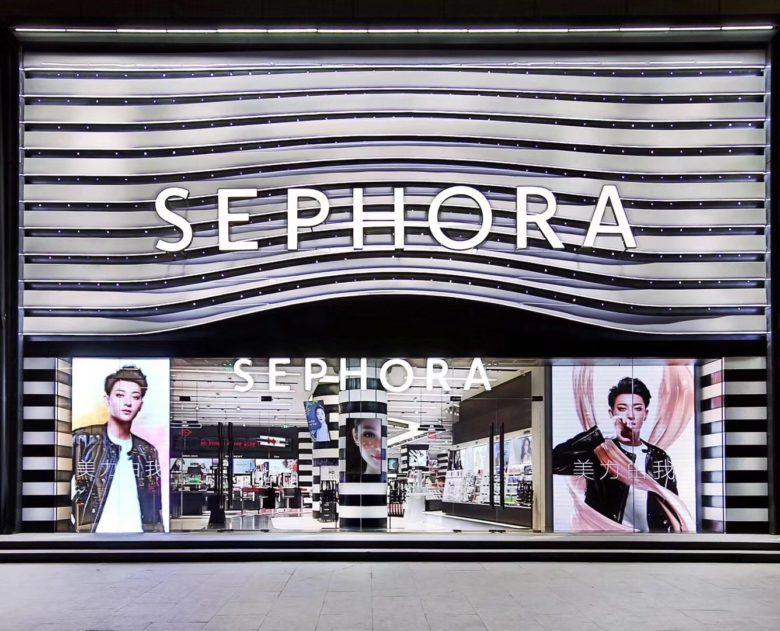 美妆店面设计|丝芙兰SEPHORA上海亚洲首家新概念店设计