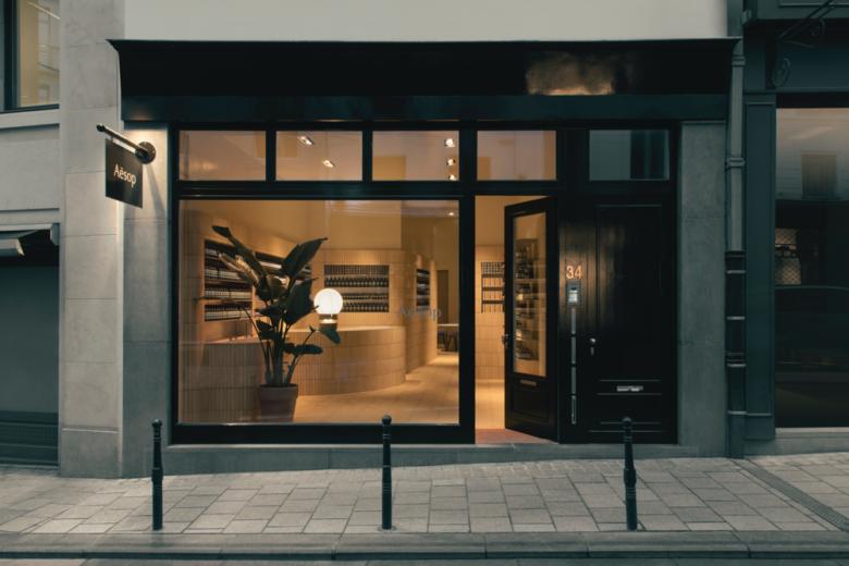 护肤品店设计|布鲁塞尔市Aesop店面设计,每家店都有不一样的惊喜