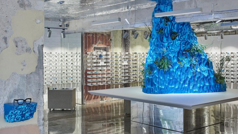 SI设计 | 立陶宛Friends&Frames眼镜店设计