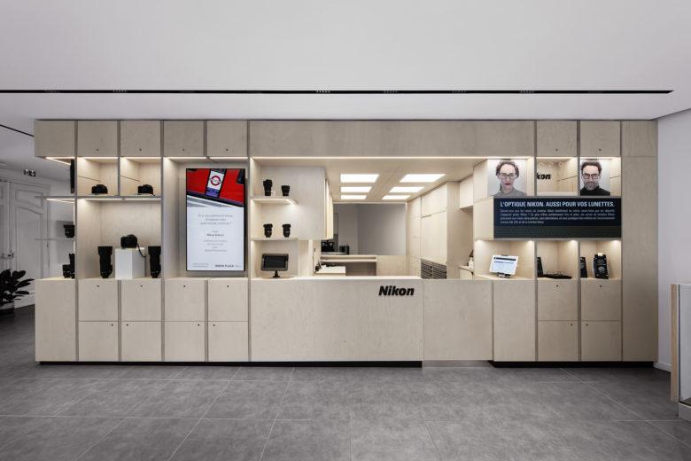 空间设计 | 巴黎尼康Nikon形象店设计