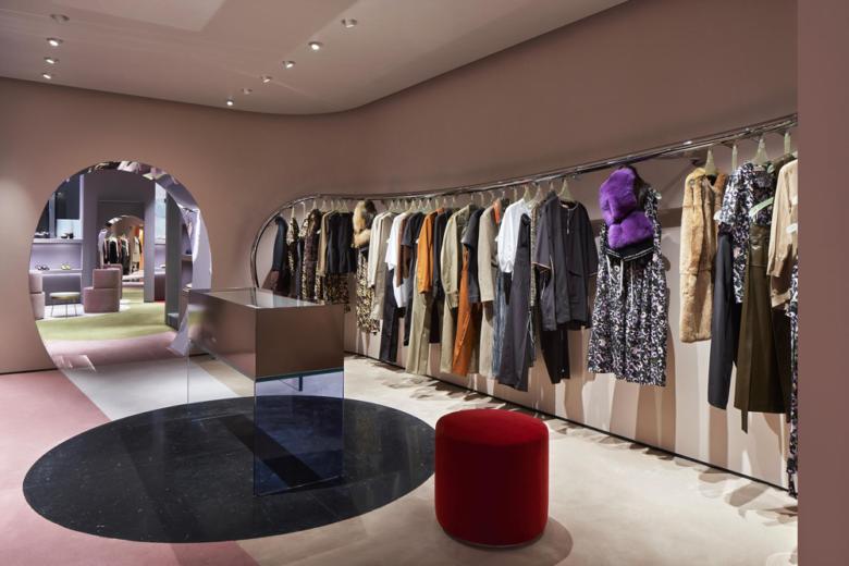 店面设计 罗马时尚品牌marni店面设计