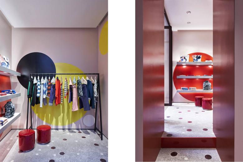 店面设计|罗马时尚品牌marni店面设计
