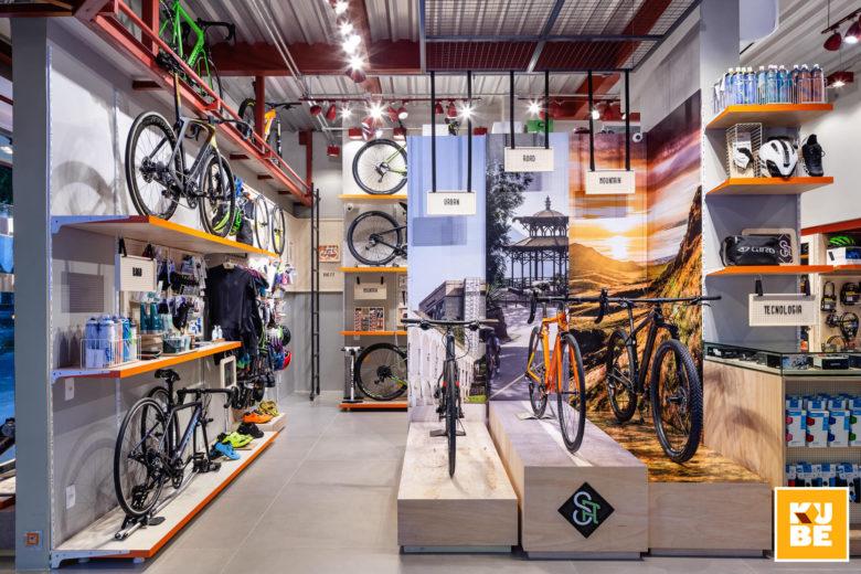 SI设计 | Special Adventure Bike 自行车店设计