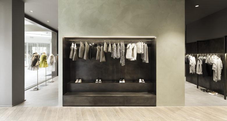 SI设计 | 意大利米兰豆豆童装店设计