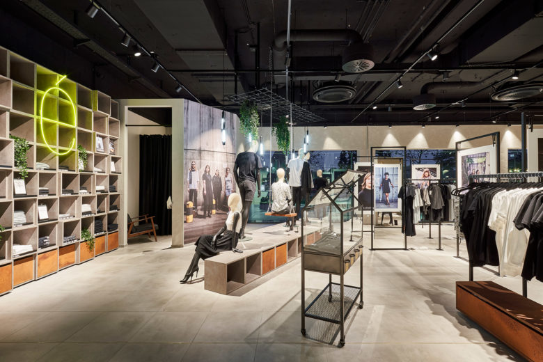 专卖店设计 |杜伊斯堡Ars Vivendi服装店设计