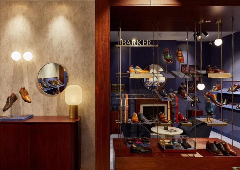 店铺设计| 伦敦Barkers男士皮鞋店面设计