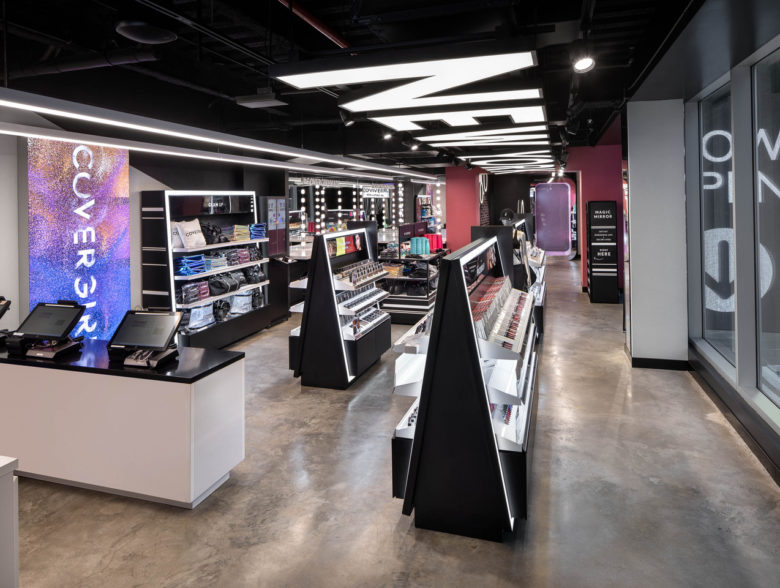 COVERGIRL Times Square Flagship Store Designed by FRCH NELSON