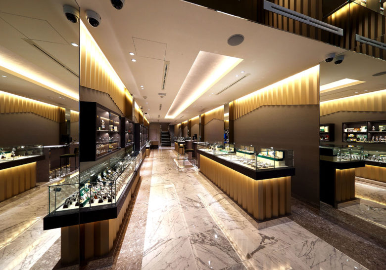 SI设计 | 大阪ippuukishi手表店设计