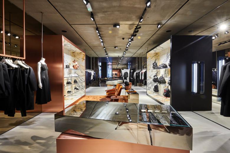 精品服装店设计| 伦敦Neil Barrett服装精品店设计