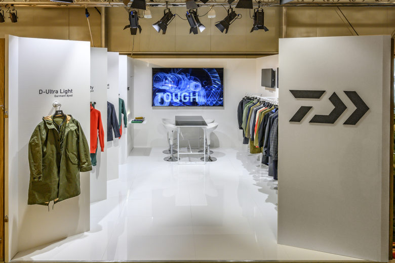 Informal green wall indoors Restaurant Daiwa Exhibit Installation By Wea Pitti Uomo 95 Fishing And The City Launchpad Academy Daiwa Exhibit Installation By Wea Pitti Uomo 95 Fishing And The City