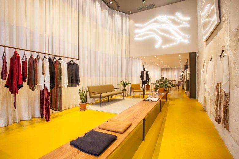 空间设计 | 巴西服装品牌Handred设计