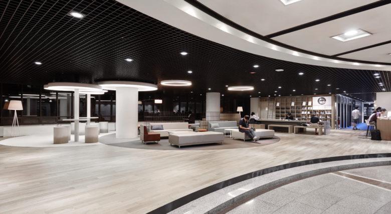 商业空间设计| 颠覆传统,韩国汉阳大学图书馆设计