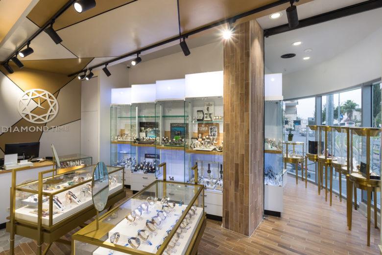 专卖店设计 |耶路撒冷手表店设计