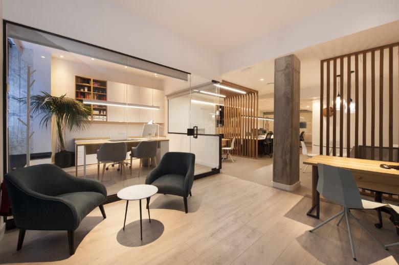 店面设计 | 西班牙Fincas Blanco房产中介设计