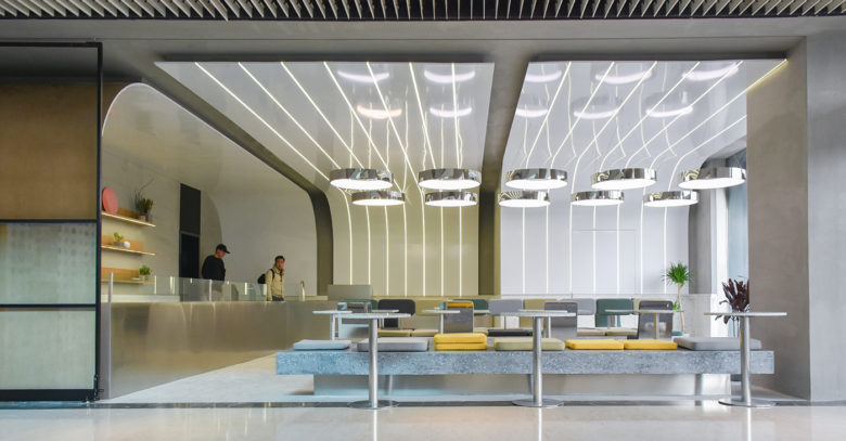 Green Option Food Court design by RAMOPRIMO