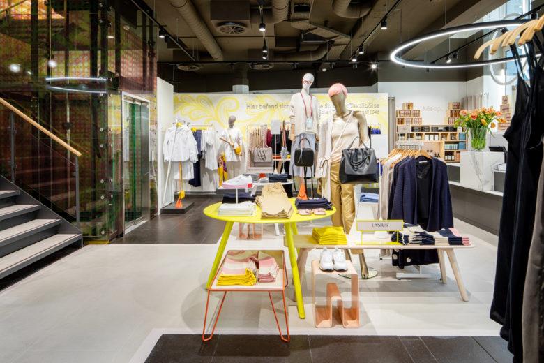 店面设计| 斯堪的纳维亚风格,瑞士weber butikk服装店面设计
