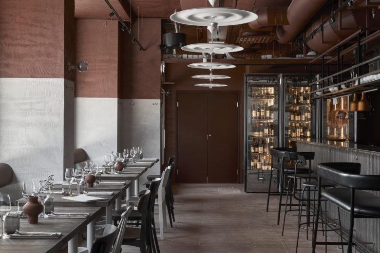空间设计 | 芬兰赫尔辛基餐厅设计