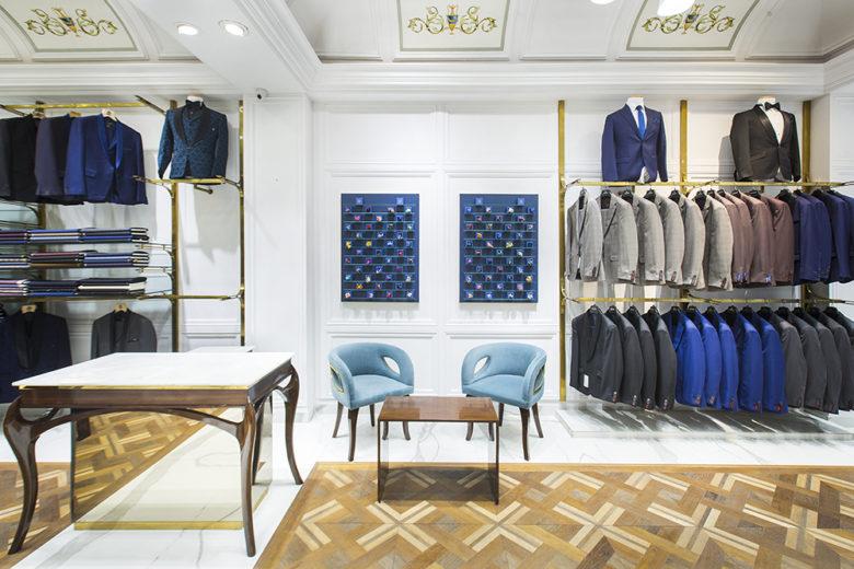 专卖店设计 | 印度Chandigarh服装店设计