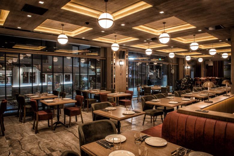 空间设计 | 伊拉克KOUZEINERI餐厅设计