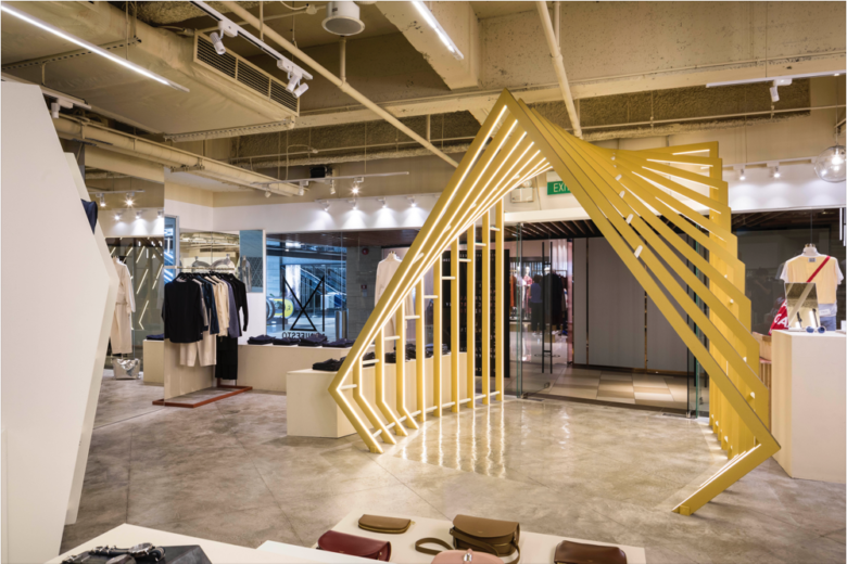 店面设计 | 新加坡新零售品牌WY-TO店面设计