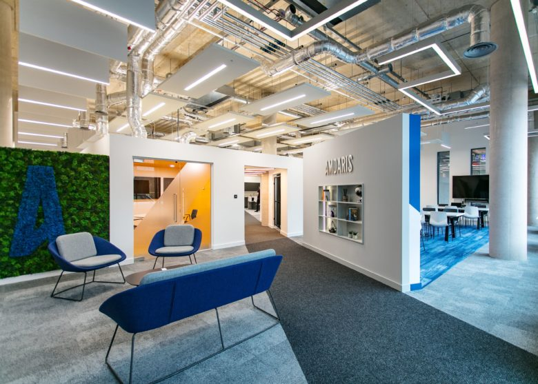 Amdaris – Office Fit Out of the new Aurora Development ca7e69bc9