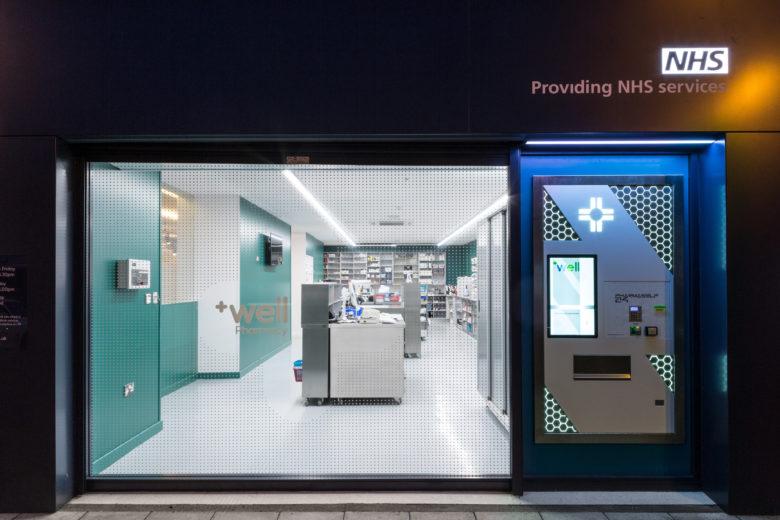 店面设计 | 英国Well Pharmacy药店设计