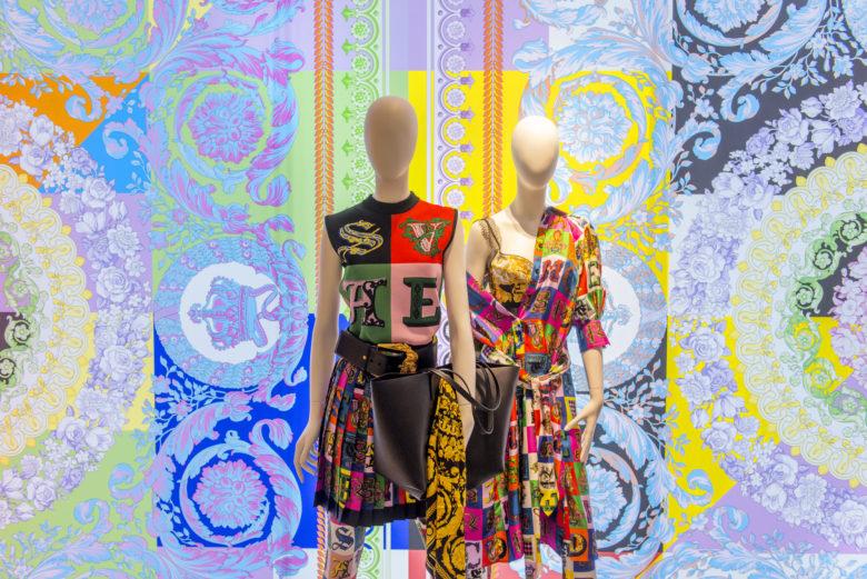 橱窗设计| Versace范思哲女装橱窗设计