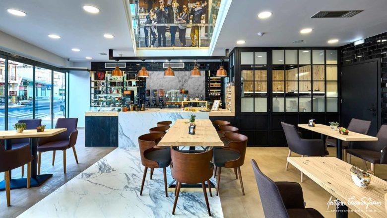 SI设计 | 希腊ESPRESSO SHOP咖啡店设计