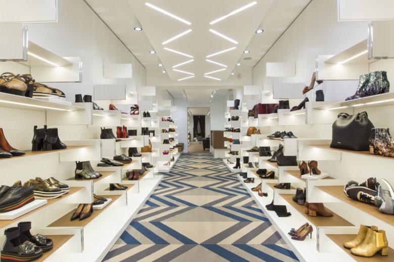 SI设计 | 罗马Pollini女鞋旗舰店设计