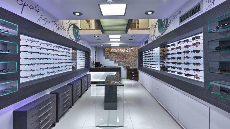 终端设计 | 新加坡Douloufakis眼镜店设计