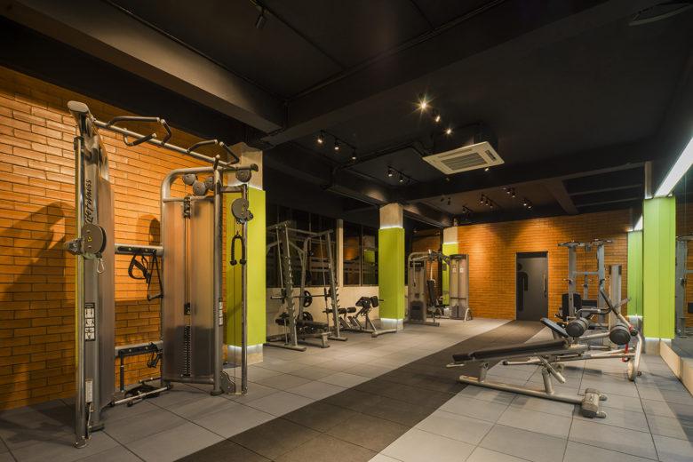 健身房设计|BARAMULTI集团内部健身房设计