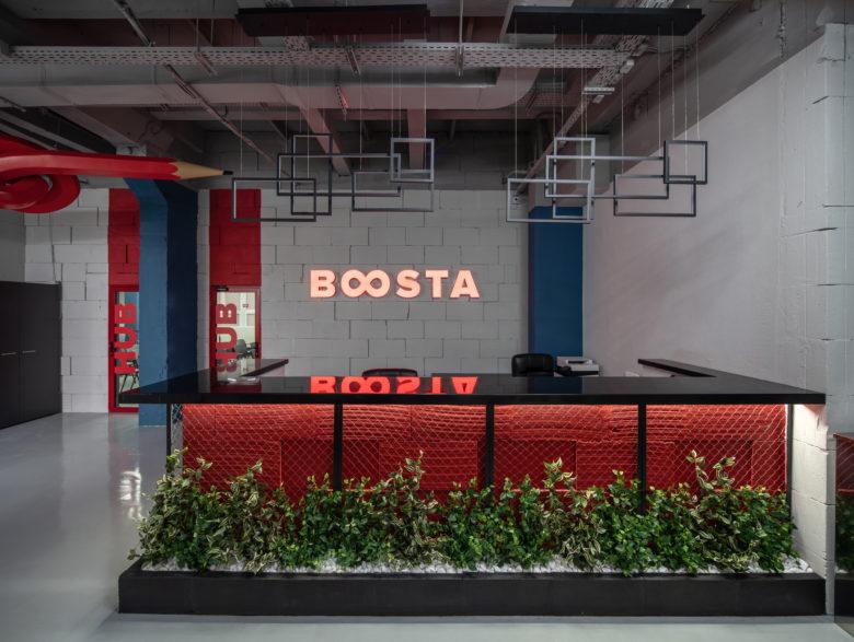 空间设计 | Boosta办公室空间设计