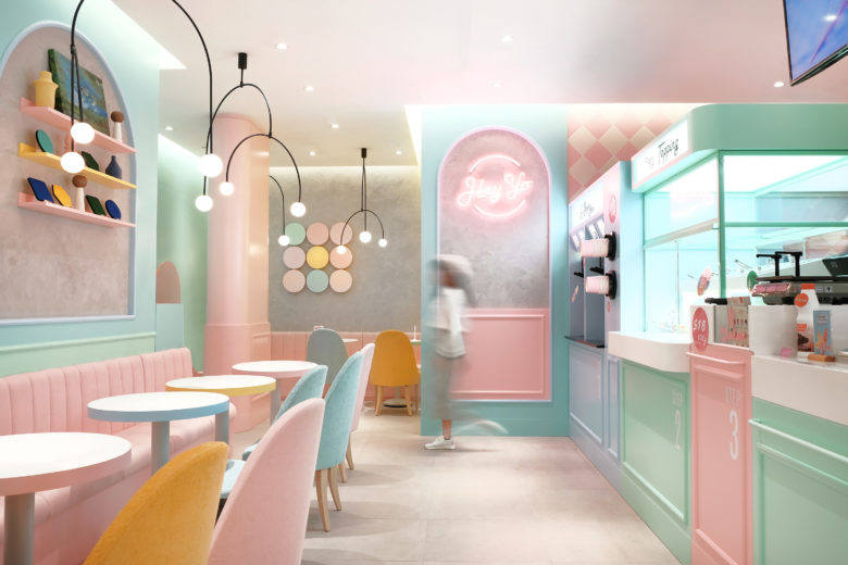 终端设计 | 香港嘿哟美食店设计