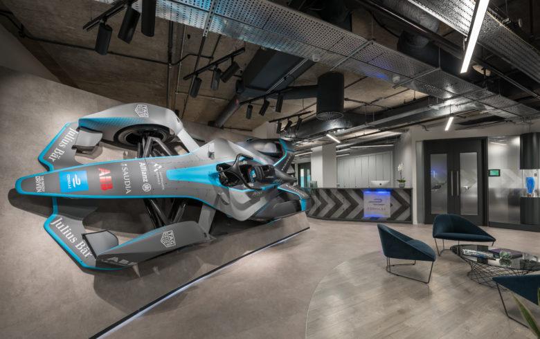 空间设计 | Formula E办公空间设计