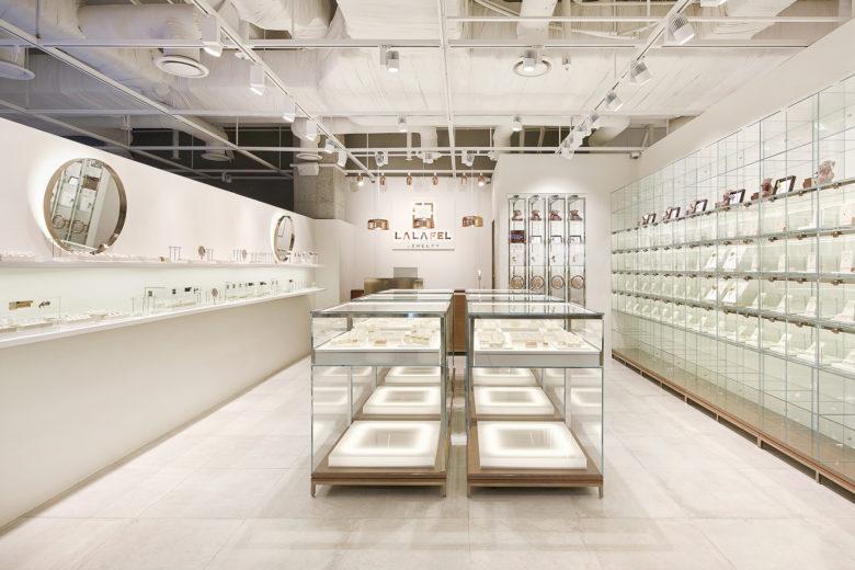 店铺设计| 首尔LALAFEL珠宝店设计