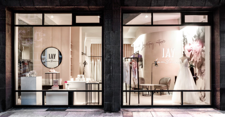 终端设计 | 德国iamYours高端婚纱店设计