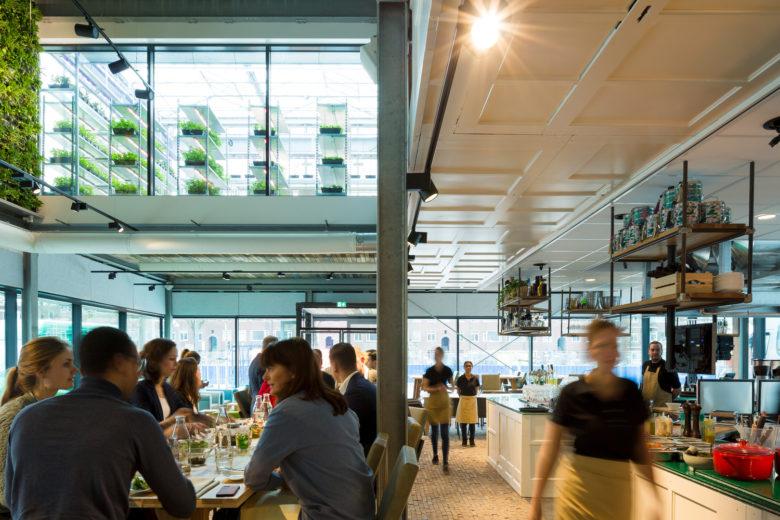 终端设计 | 荷兰乌得勒支休闲餐厅设计