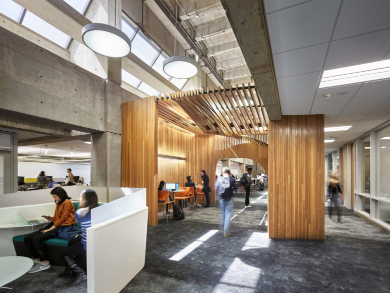 GBBN-9, Library at Wean Hall, Carnegie Mellon University, Pittsb
