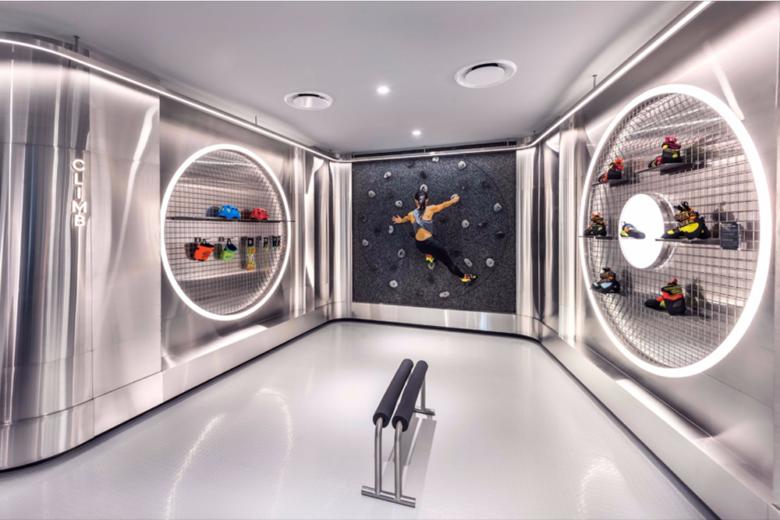 店面设计 | 新加坡宜机Durasport运动服装店设计