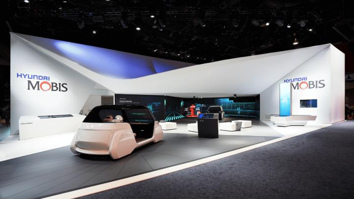 » Hyundai Mobis Booth At CES 2019