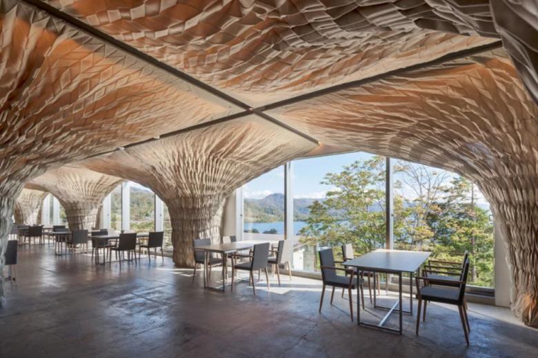 空间设计 | 日本Kengo Kuma精品酒店空间设计