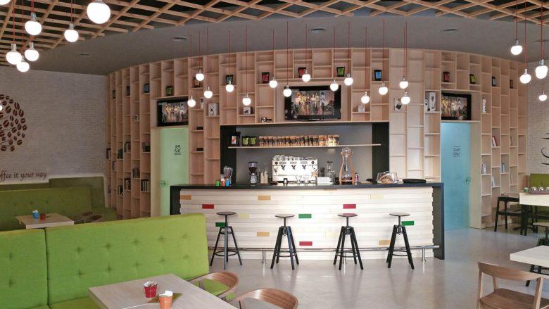 空间设计 | 格鲁吉亚Mirabilis咖啡厅设计