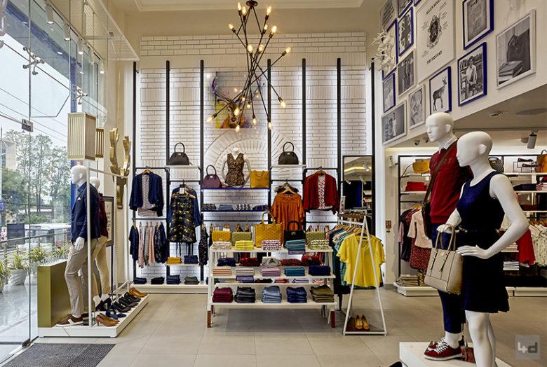 店面设计 | 印度Allen Solly服装品牌设计