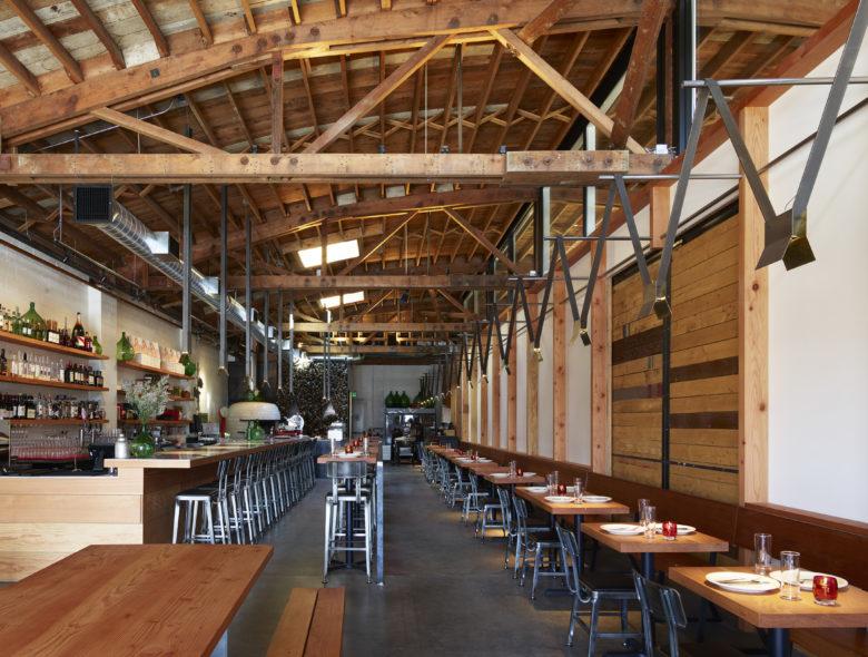 空间设计 | 班布里奇岛Bruciato酒吧餐厅设计