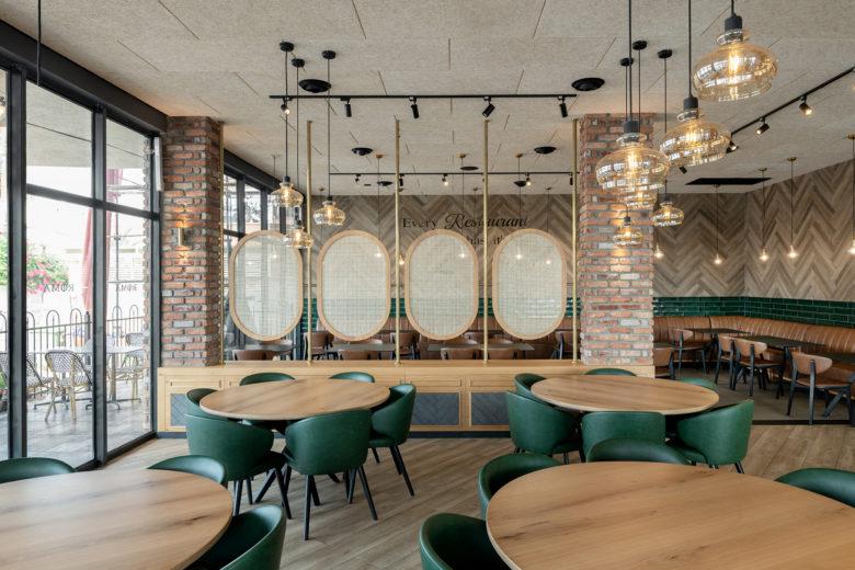 空间设计 | 意大利餐厅设计