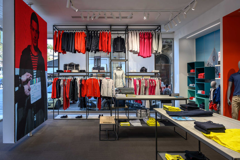 专卖店设计 |  意大利SLAM 服装专卖店设计
