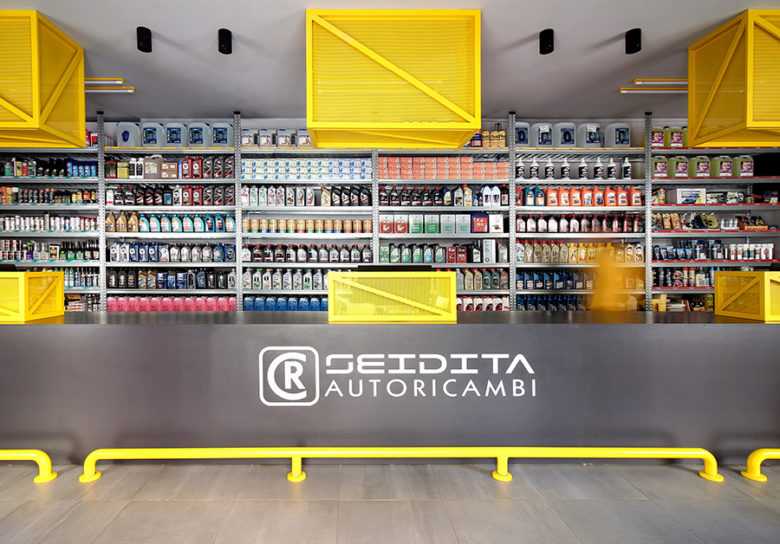 SI设计 | 巴勒莫CR Service汽车用品店设计