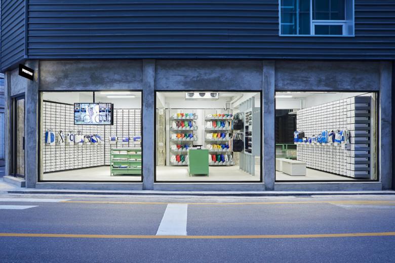 店面设计 | 韩国Freitag终端店面设计