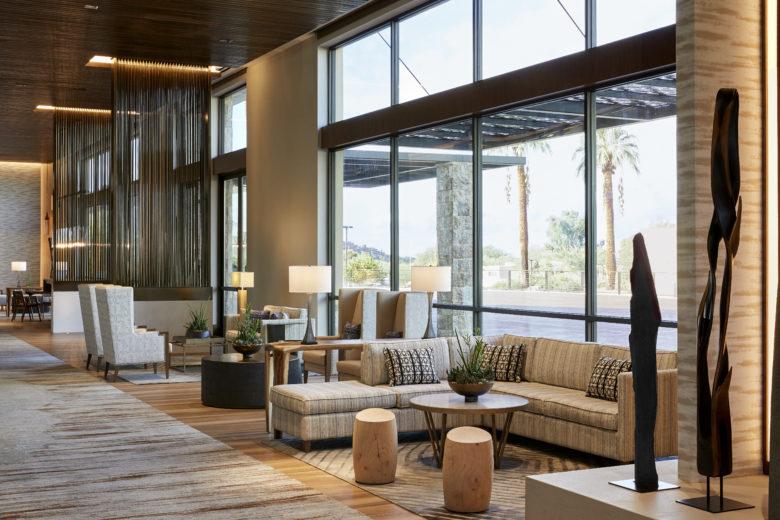 空间设计 | 美国万豪驼峰酒店及水疗中心设计